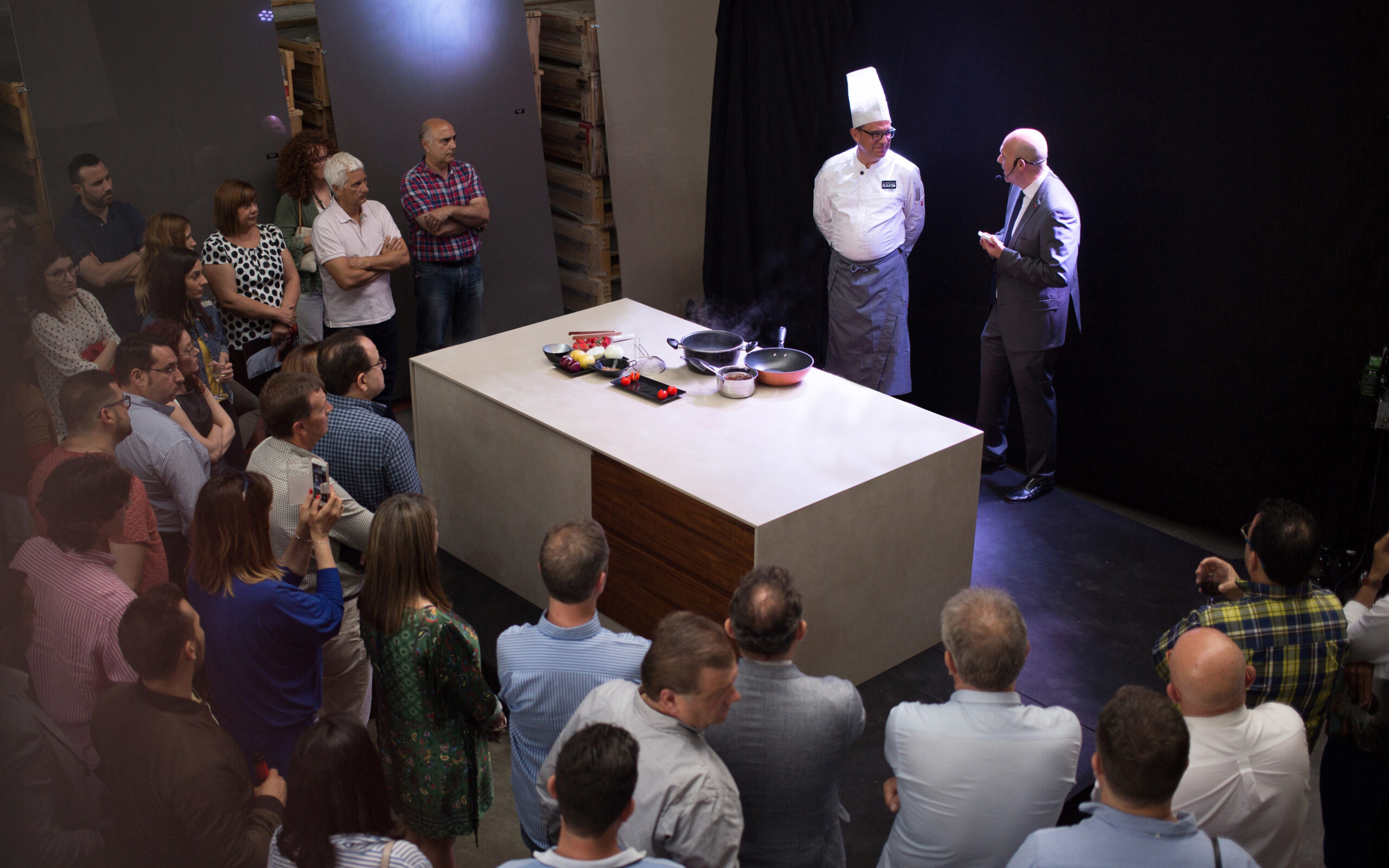 Francisco Hita Cooking Rak Smart Countertop Présentation