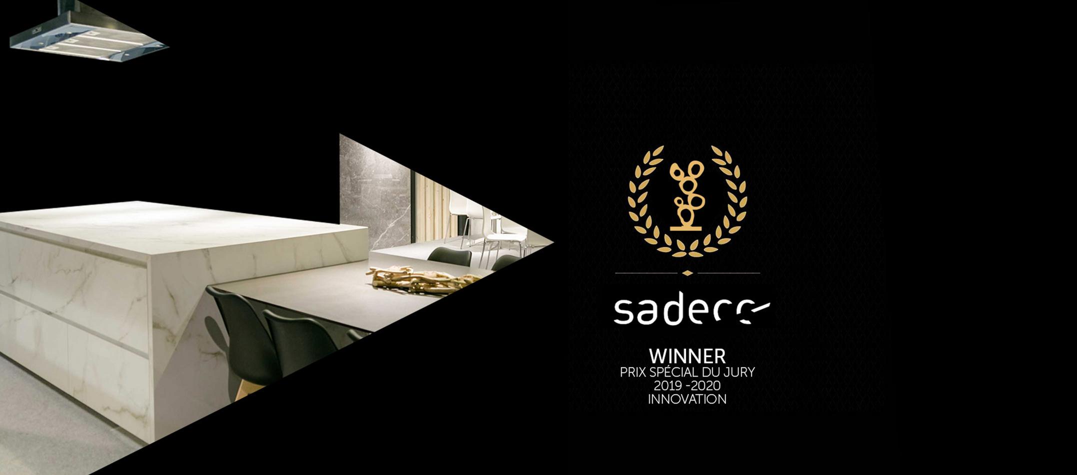 Cooking Surface reçoit le trophée de la « meilleure innovation de comptoir de cuisine »